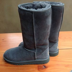 New without tags grey Ugg classic tall.